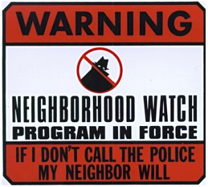 Neighborhood Watch Sign 3