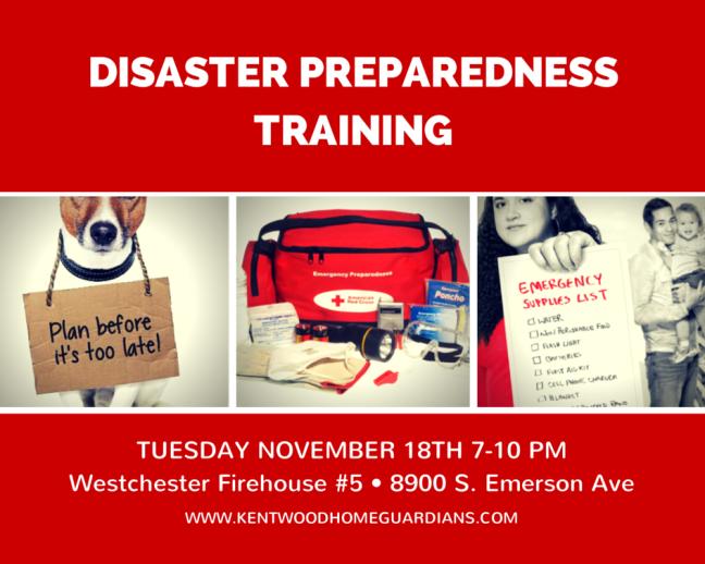KHG Emergency Preparedness Event