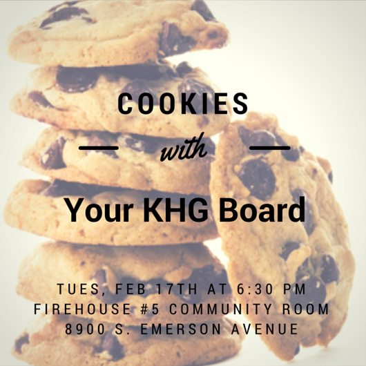 Cookies with the KHG Board