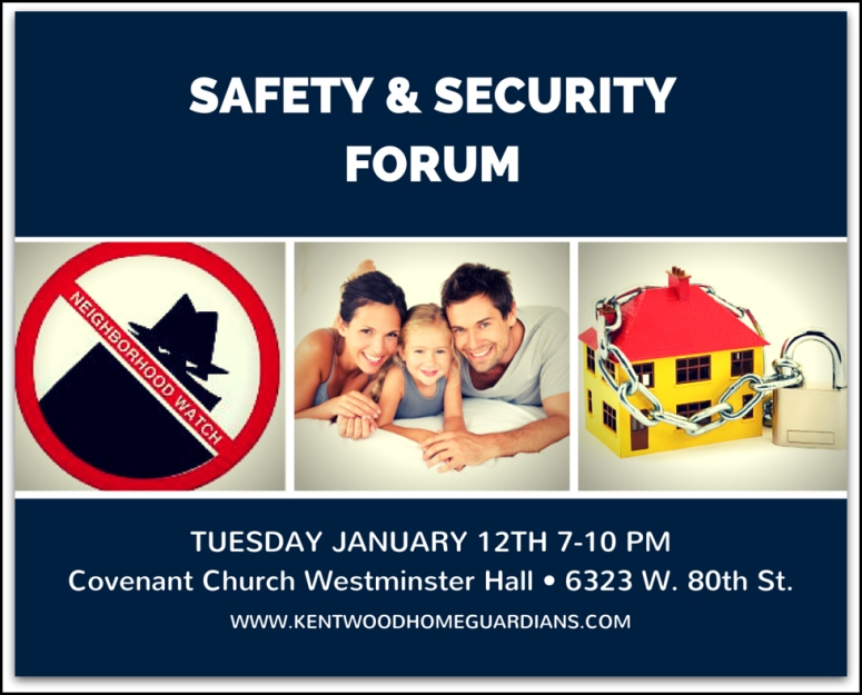 Kentwood Home Guardians Safety & Security Forum