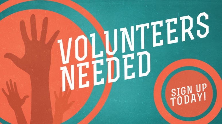 volunteers needed 2